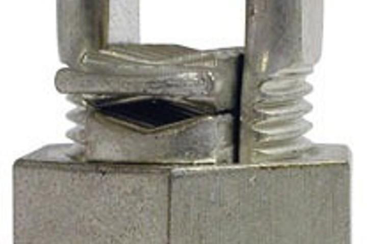 Hero copper split bolt connectors 4 awg max display pack 20141118