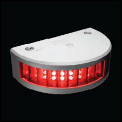 Thumb stern light white round housing 2 nm visibility for vessels up to 50 meters