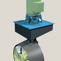 Thumb zf at 5000 wm fp thruster  z drive