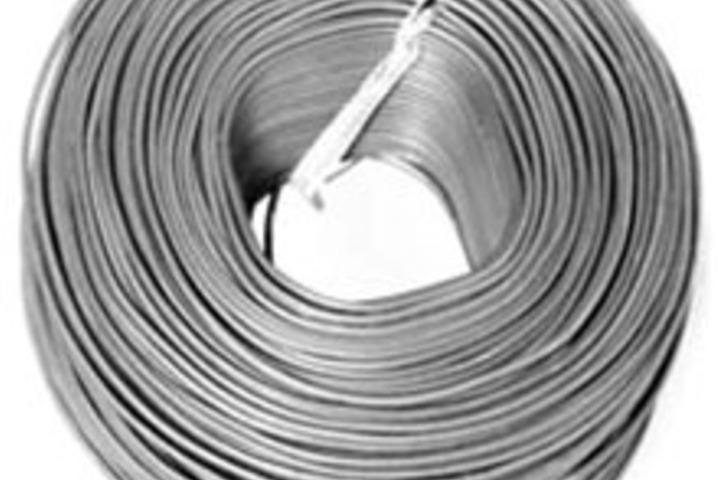 Hero tie wire 18 awg galv.  30 inch length  50 bundle