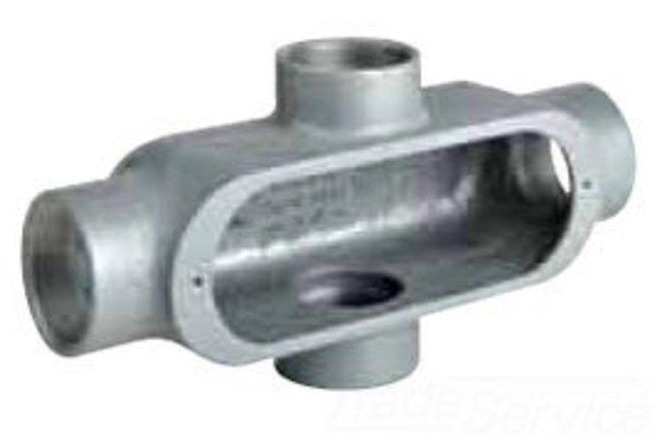 Hero 1 x type alum conduit body