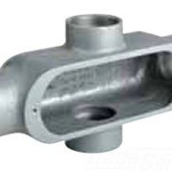 Thumb 1 x type alum conduit body