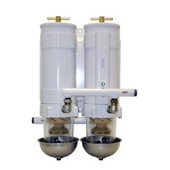 Thumb 537 80 gph diesel fuel filter water separator baldwin filter