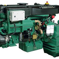 Thumb 233 501hp  368kw marine propulsion engine volvo penta of the americas