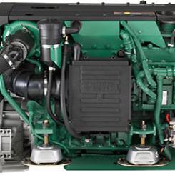 Thumb 233 300hp  221kw marine propulsion engine volvo penta of the americas