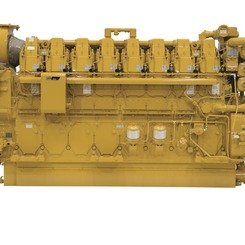 Thumb 233 5650 bkw marine propulsion engine  model c280 16 fcvr caterpillar