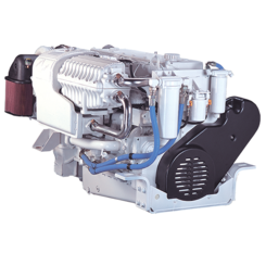 Thumb 449 kw 2300 rpm marine propulsion engine 112.5 lhr model qsm11