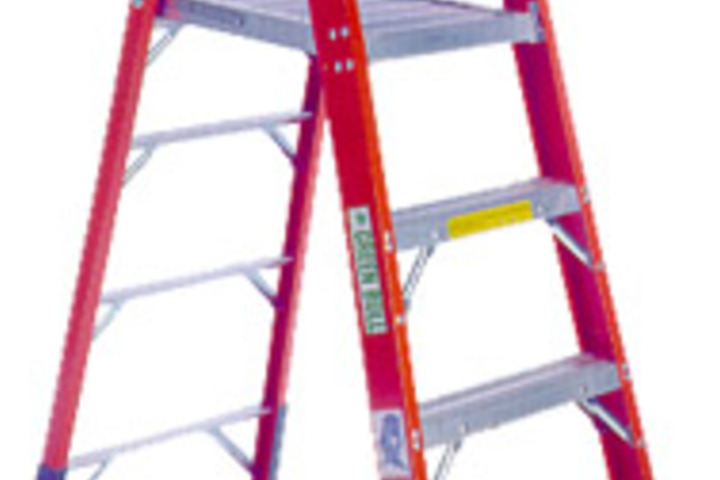 Hero 623 platform step ladder series 2052 type  green bull ladders