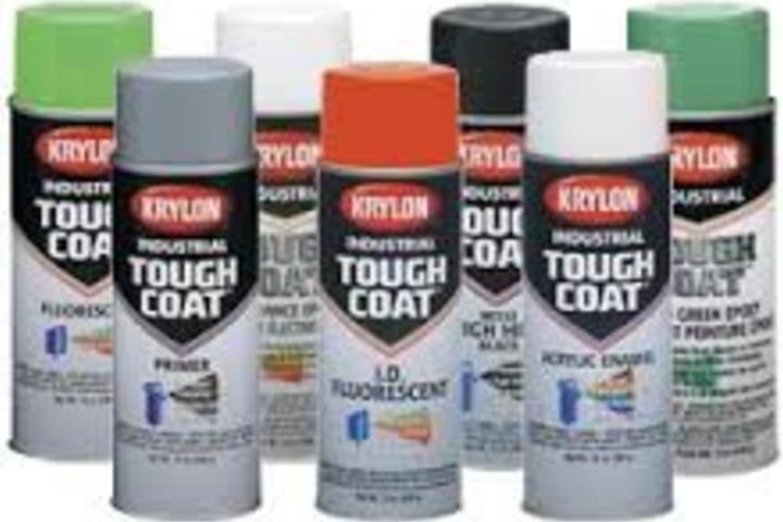 Hero 631 krylon tough coat industrial paint  kpg industrial