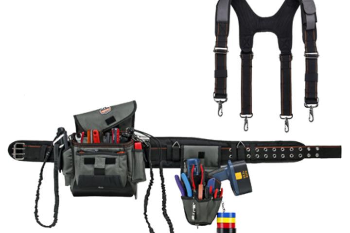 Hero 665 arsenal tool belt blk 3 in w sz x large  ergodyne