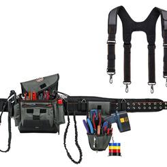 Thumb 665 arsenal tool belt blk 3 in w sz x large  ergodyne