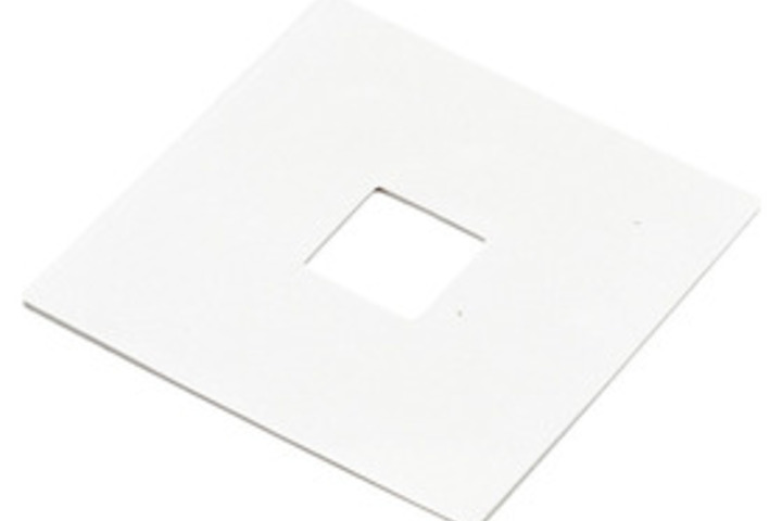 Hero 169 outlet box cover wht sq shape  elco lighting