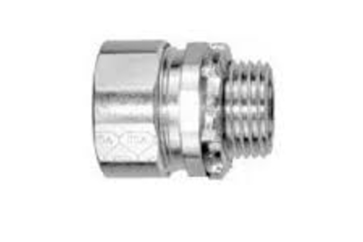 Hero 311 compression connector 4 in sz znc pltd  american fittings