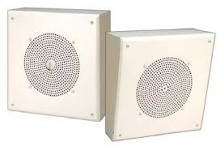 Hero 434 metal box speaker with rcsd volume cntrl  bogen communications