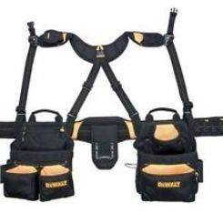 Thumb 665 apron and yoke style suspender blk nyl  custom leathercraft