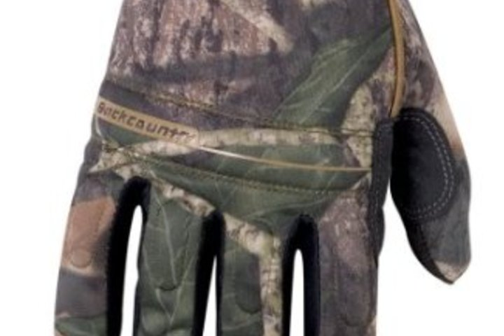 Hero 403 backcountry mossy oak hi dexterity gloves  custom leathercraft
