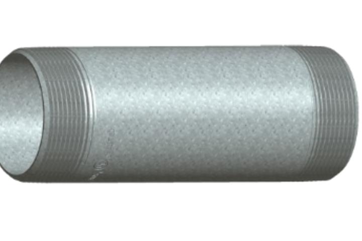 Hero 558 6 x 12 csa cond nip gal conduit pipe products  phoenix