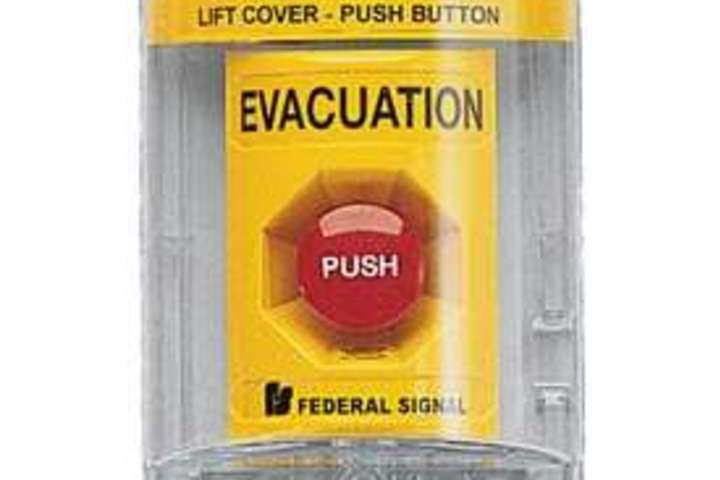 Hero 436 pull station evacuation yellow federal signal