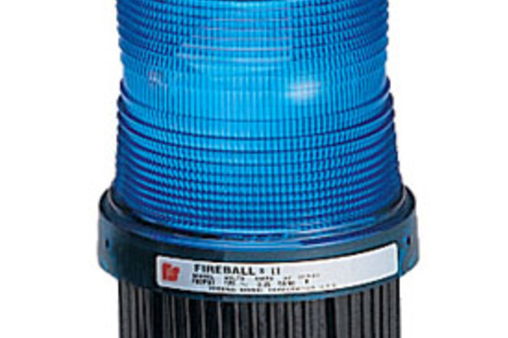 Hero 436 strobe 120vac hazardous location blue federal signal