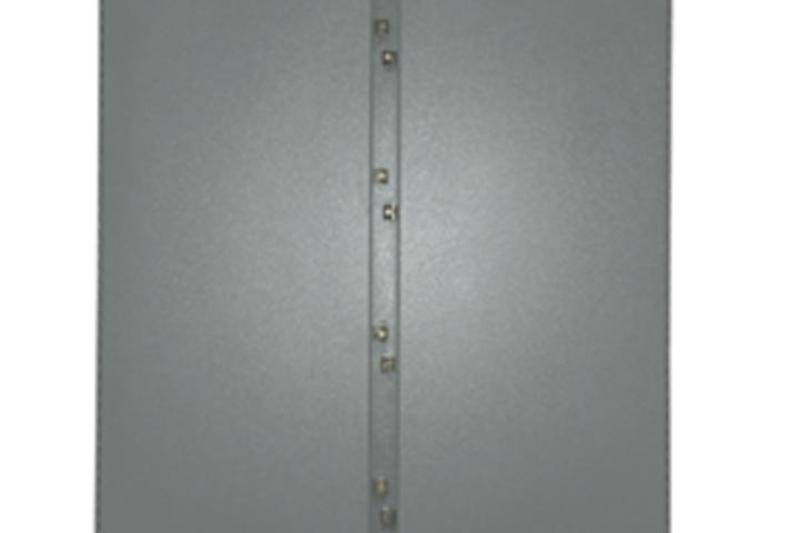 Hero 169 painted panel for double door floor mount e box inc.