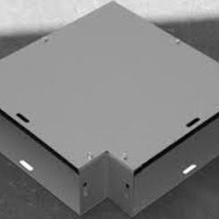 Thumb 306 60 in. divider for x ray duct type 1 e box inc.