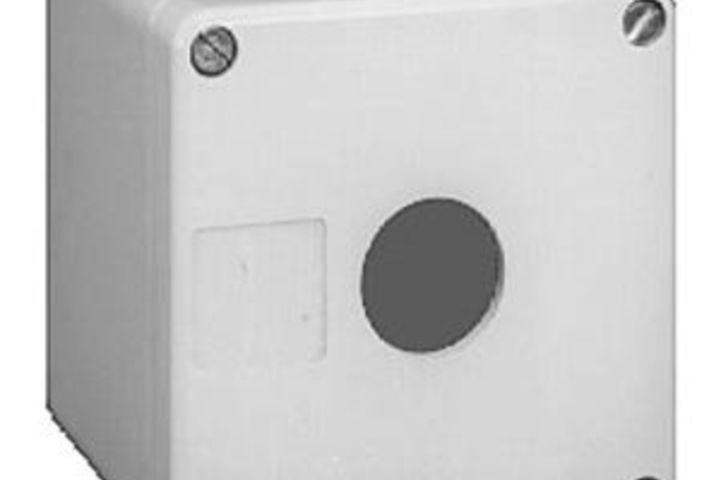 Hero 303 painted miniature push button vertical enclosure type 12 e box inc.