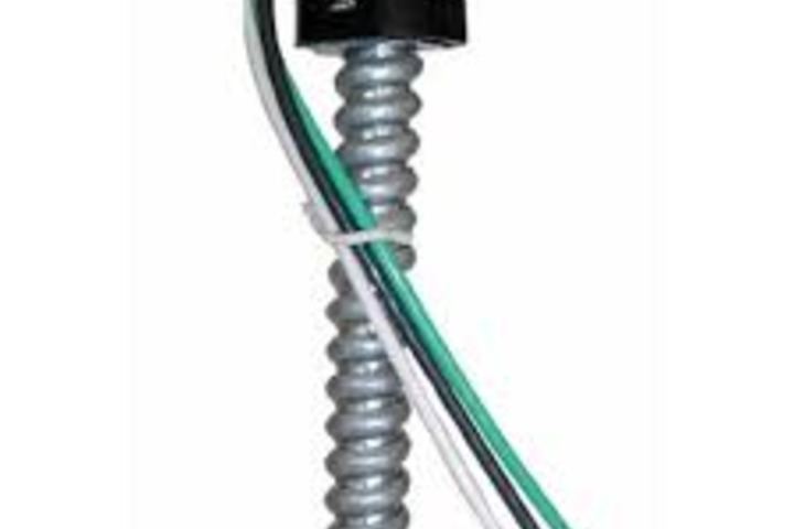 Hero 304 fixture whip  4 18 awg stranded wire  blk  wht  grn and red engineered products company  epco