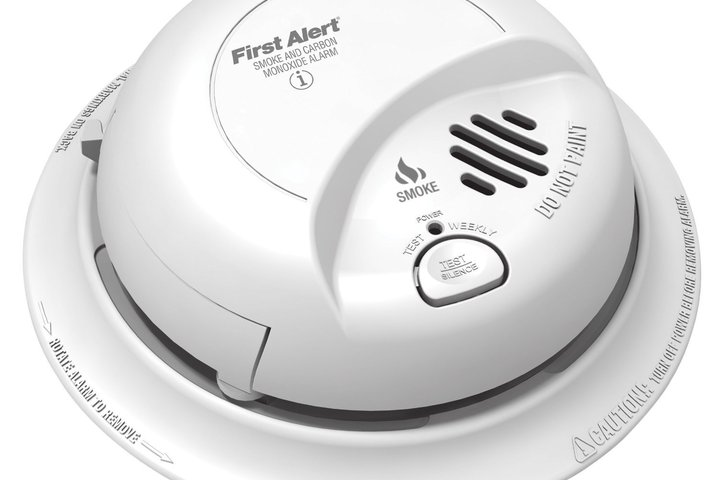 Hero 436 first alert smoke and co alarm 120 vac brk electronics