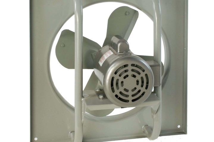 Hero 512 pb  wall exhaust  42  1 3hp  3ph  230 460v airmaster fan company