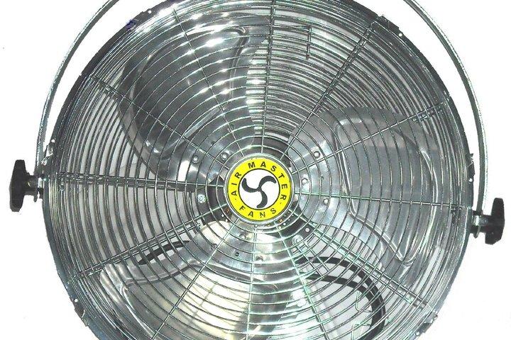 Hero 512 industrial  20 work station yoke mount airmaster fan company