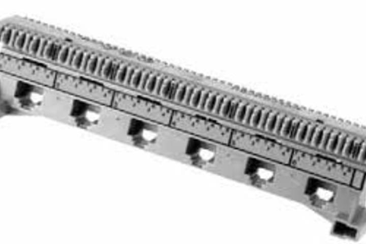 Hero 432 ps5e 6 port connector snap on mount belden