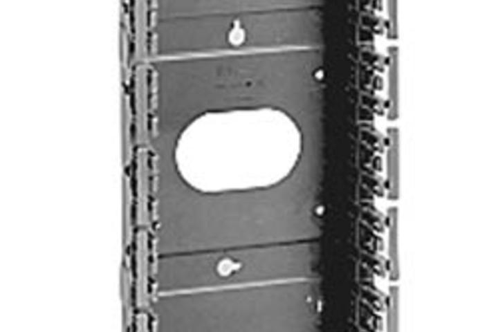 Hero 415 mount slot capacity 250 pair 7.6 in w  belden