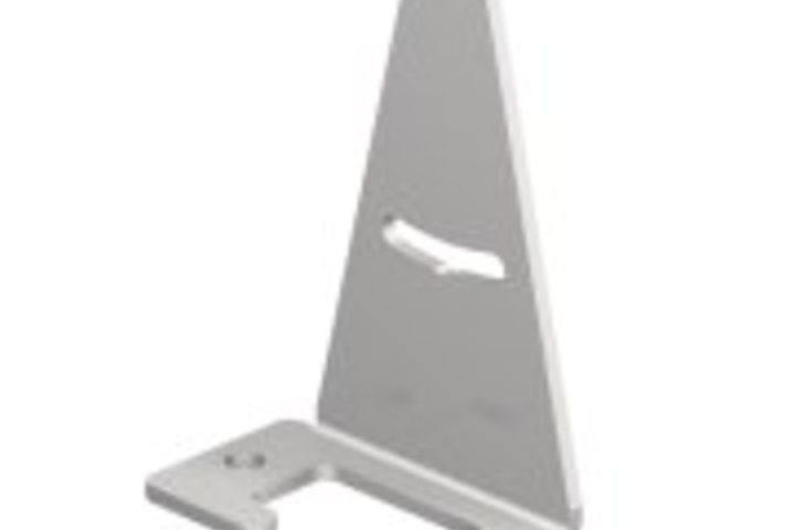 Hero 179 mounting bracket 74 mm ht w 35 mm  banner engineering
