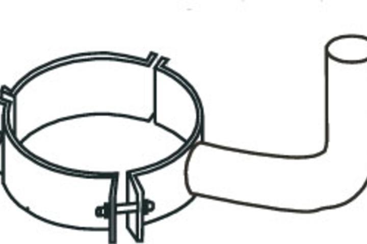 Hero 332 brkt bullhorn steel mntg 2 fixt  hubbell lighting