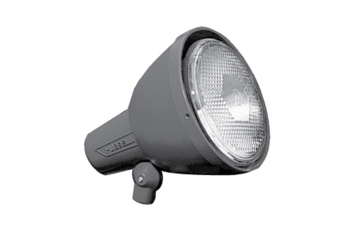 Hero 332 lamphldr bell shield 150w inc gry  hubbell lighting