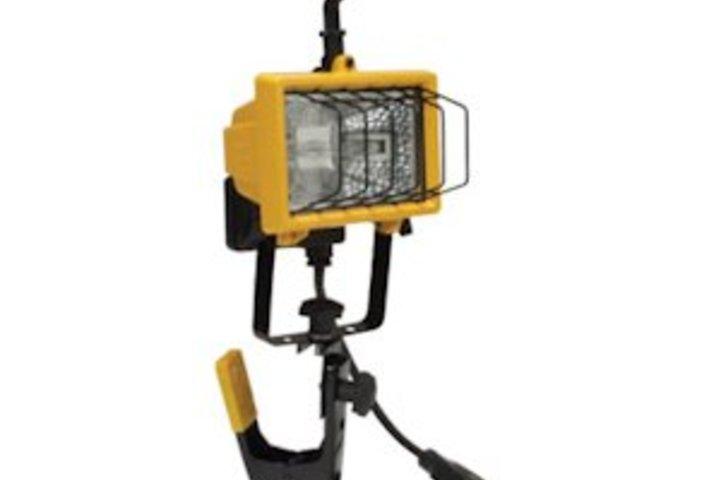 Hero 443 quartz worklight clamp style 150w120v la  hubbell lighting