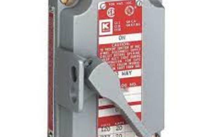Hero 414 switch cover  1p 347vac 15a  1 dead end  killark