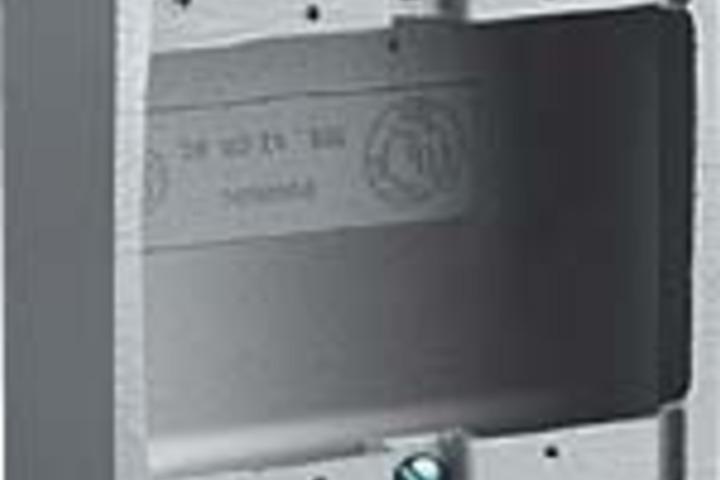 Hero 303 device box 2gang shlw al 3 4  killark