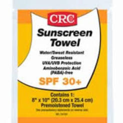Thumb 644 sunscreen towel  crc industries