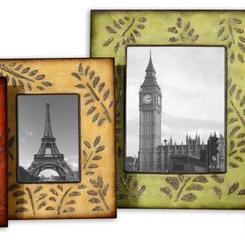 Thumb 645 abstract ferns photo frame mtl frm  the uttermost company