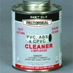 Thumb 693 sam cl 3 cleaner 1 qt dauber top can clr  rectorseal compounds