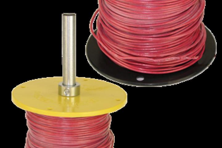 Hero 304 reel end   spool repair  rack a tiers mfg. inc
