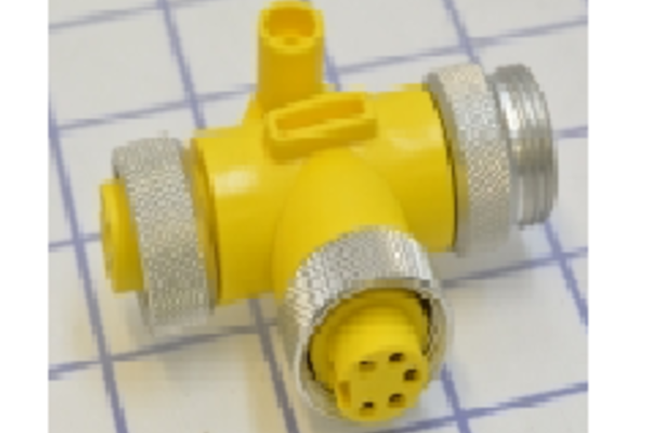 Hero 161 pvc mini link tm tee connectors  remke industries