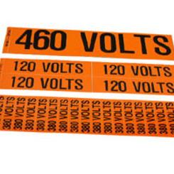 Thumb voltage labels