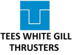 Small thumb tees white gill thrusters