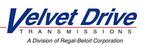Small thumb velvet drive transmision logo