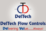 Small thumb deltech flow control logo